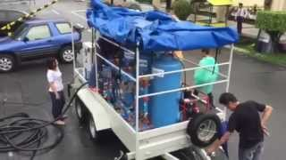 Odis Mobile Water Treatment Plant at QC Park Lagoon by Power4All