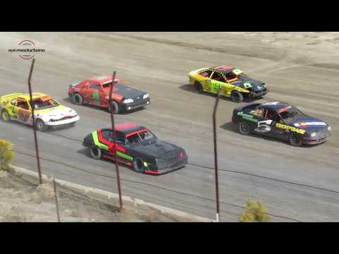 Desert Thunder Raceway Mini Stock Main Event 9/29/18-Day Race