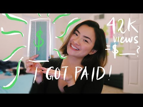 My First Youtube Paycheck | How to Get Monetized