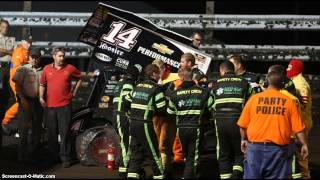 Wow!!! Tony Stewart Runs Over Sprint Car Driver Kevin Ward