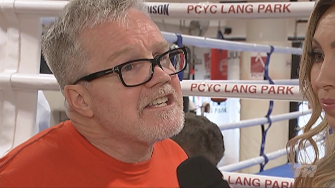 Freddie Roach: The Old Manny Is Back