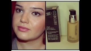 Šminkanje - ARTDECO  high definition tečni puder - prvi utisak