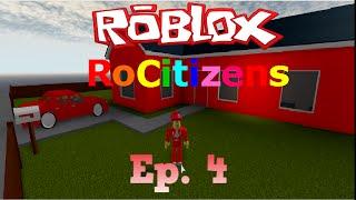 Roblox-RoCitizens Ep. 4: IM RICH!!!