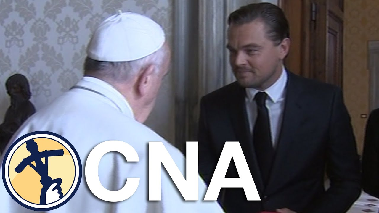 Leonardo dicaprio meets pope francis youtube leonardo dicaprio meets pope francis m4hsunfo Choice Image