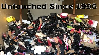 1,066 NEW Designer Shoes Found Inside Abandoned Storage Unit. Owner Paid Since 1996!