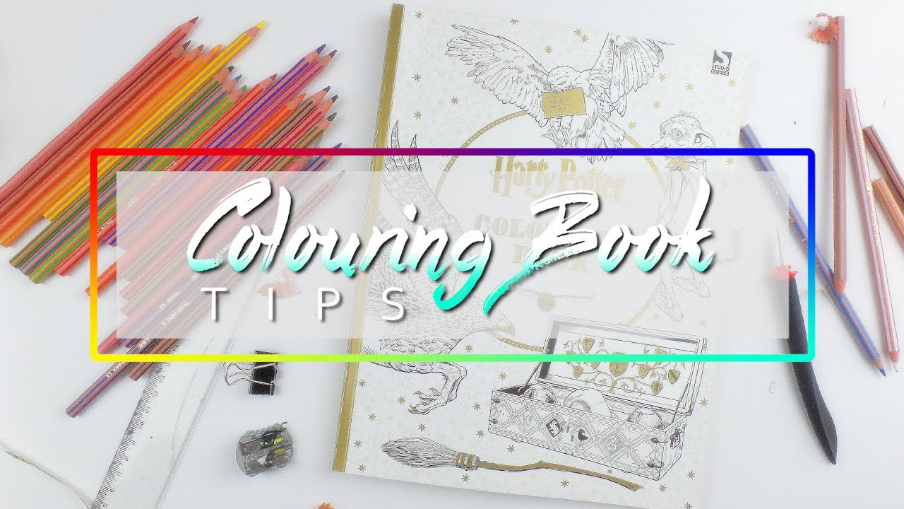 COLORING BOOK BASIC TIPS