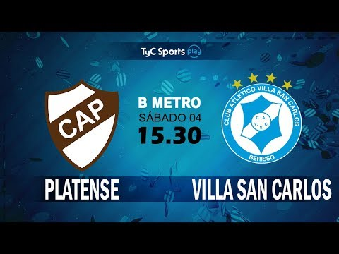 Primera B Metropolitana: Platense vs. Villa San Carlos l #PrimeraBenTyC