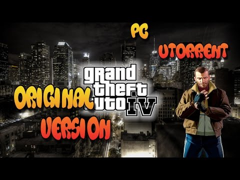 How to Download And Install GTA IV (original version) PC Utorrent (Easy) 2017