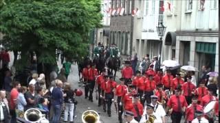 Schützenfest Düsseldorf 20150719 Schützenzug Mühlengasse