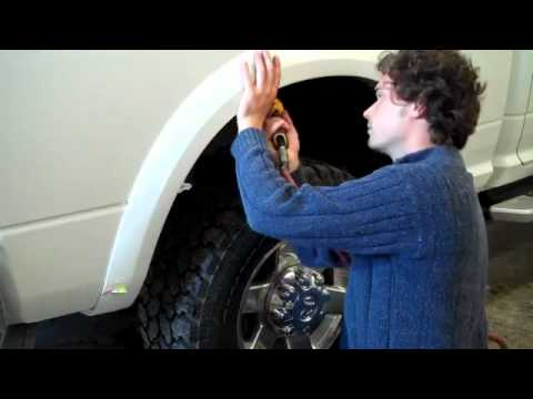 Truck Fender Flares >> How to Install Fender Flares on Truck or Car - YouTube