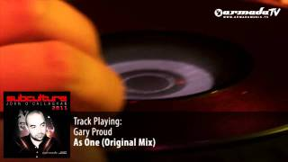 Gary Proud - As One (Original Mix) - Subculture 2011 preview