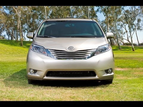 2015 toyota sienna preview by auto critic steve hammes youtube. Black Bedroom Furniture Sets. Home Design Ideas
