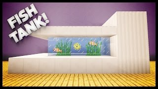 minecraft how to build a fish tank