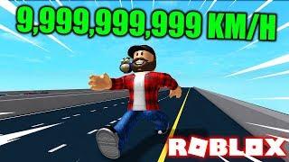 ROZPĘDZAM SIĘ DO 9 999 999 999 KM/H | ROBLOX #admiros