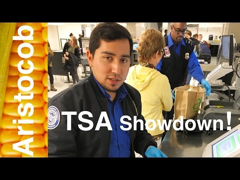 First it's the FDA, now it's the TSA!  The struggle is real, people.