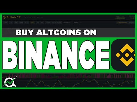 How To Buy Altcoins On BINANCE Exchange - (Beginners Tutorial) 2018