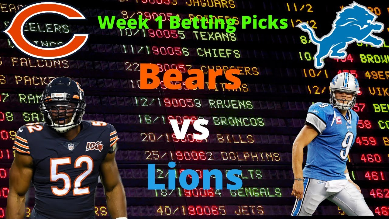 Bears vs lions betting predictions football cowboys redskins betting predictions tips