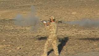 FIRING AN ANA RPG IN AFGHANISTAN