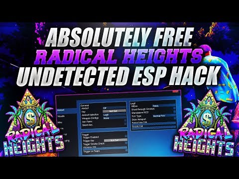 FREE UNDETECTED RADICAL HEIGHTS HACK/CHEAT! [WORKING APRIL 2018]