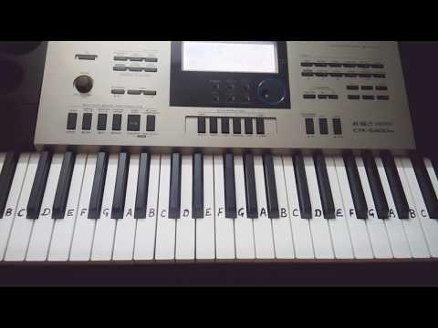 Nimiya Ke Daar Maiya on Keyboard Piano Bhojpuri Song Devi Bhajan
