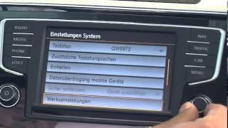 Car Net  - VW Passat / 02-Registrierung