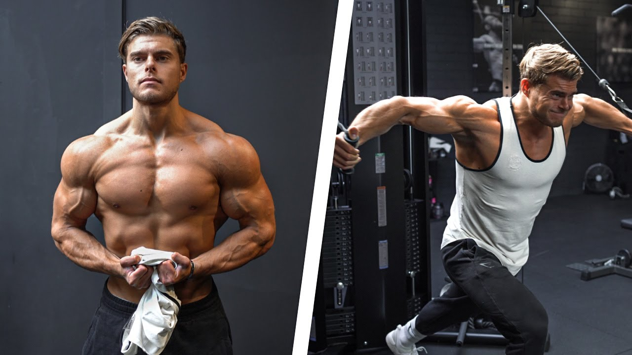 Download BIG CHEST & TRICEP WORKOUT   How I Eat and Train to Build Lean Muscle