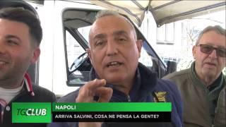Salvini a Napoli, cosa ne pensa la gente?