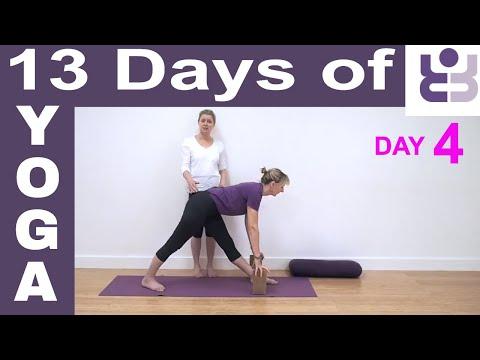Day 4 - 13 Days of Yoga. Iyengar Yoga for Beginners