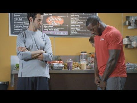 Patrick Willis Foot Locker x ASICS    Juice Bar  commercial