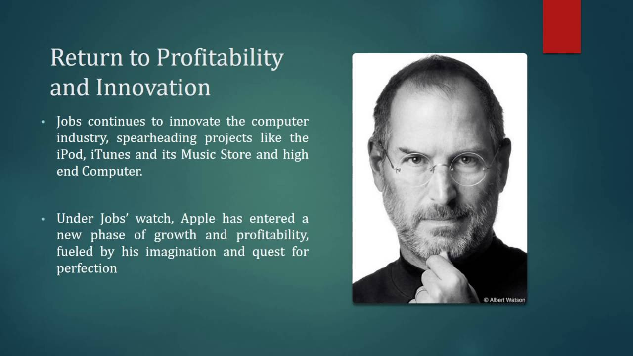 steve jobs as a leader Steve jobs was an unconventional leader his management style wasn't the stuff of university textbooks, but the results are indisputable.