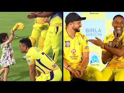 Csk 2018 I Inside Dressing Room | Vivo Ipl Funny videos