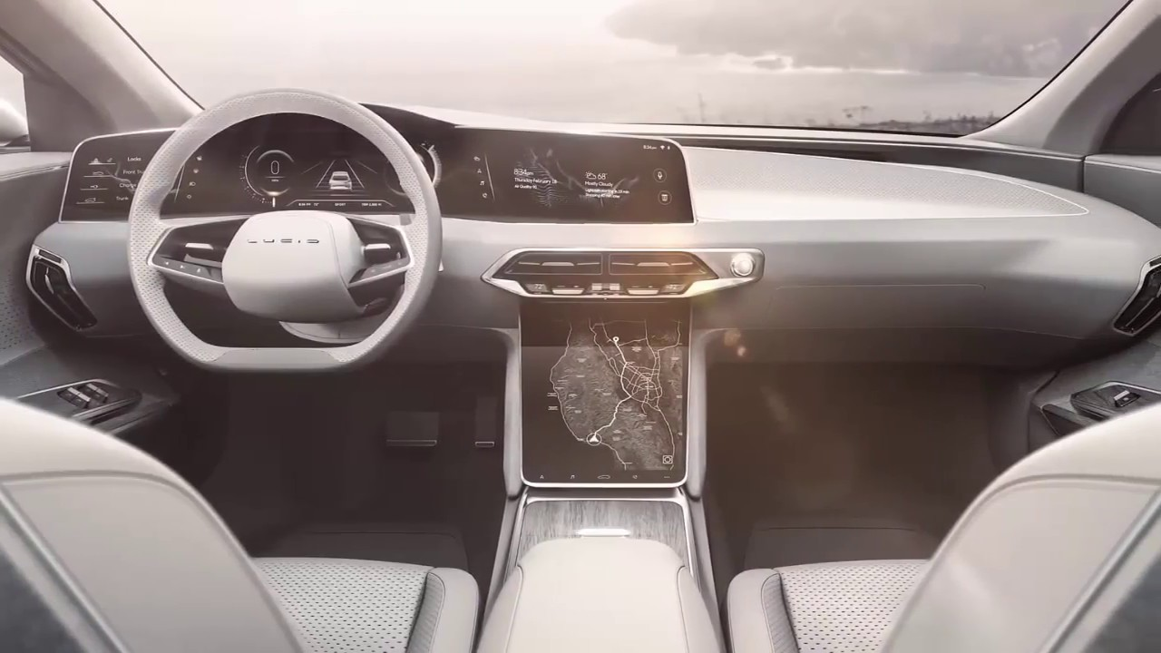 2019 Lucid Air Interior Youtube