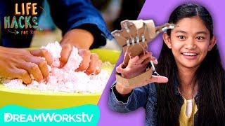 Kinetic Sand + More Hacks with Your Hands | LIFE HACKS FOR KIDS