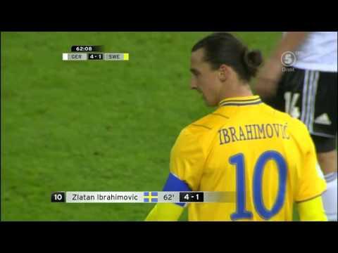 Sverige-Tyskland 4-4 All goals (Lasse Granqvist, commentary dubbed )
