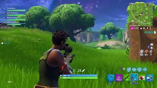 Cringy Kid on Fortnite Batlle Royale hits first Snipe..