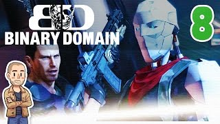 Binary Domain Playthrough Part 8 - Bad Ground - Let