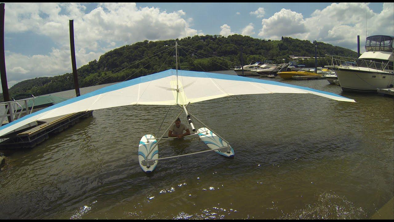 Hang Glider Pontoon Fail