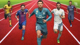 FIFA 18 Speed Test | Fastest Players In FIFA