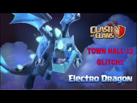 Clash Of Clans Town Hall 12 Glitch!!
