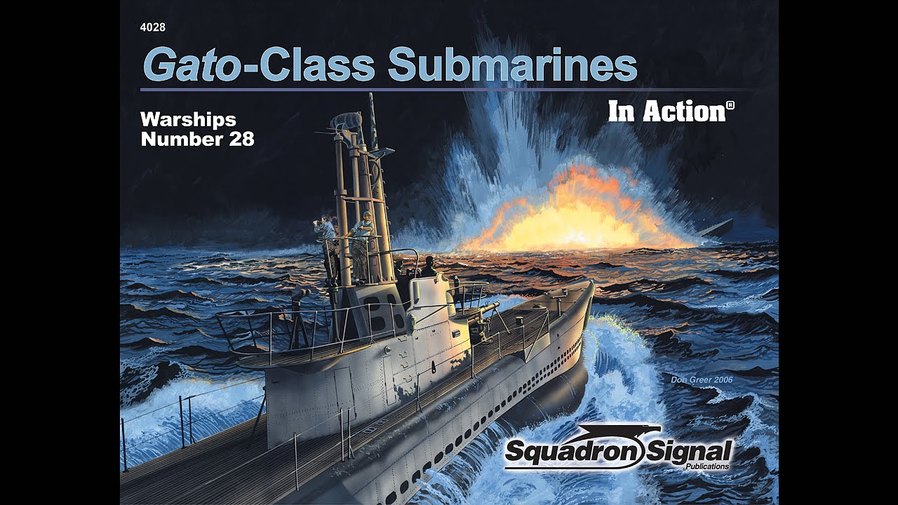 Gato Class Submarines In Action Youtube