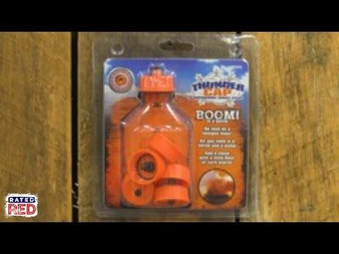 Thunder Cap Adds a Mini Sonic Boom to Target Practice