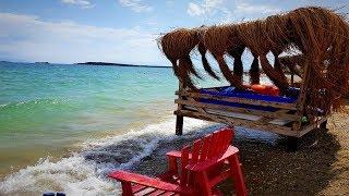 Пляжи Измира. Чешмеалты (Çeşmealtı, Uğrla).