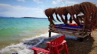 Пляжи Измира. Чешмеалты (Çeşmealtı, Urla).