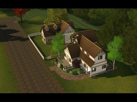 Sims 3: Meek Manor Reno Speed Build Part 1