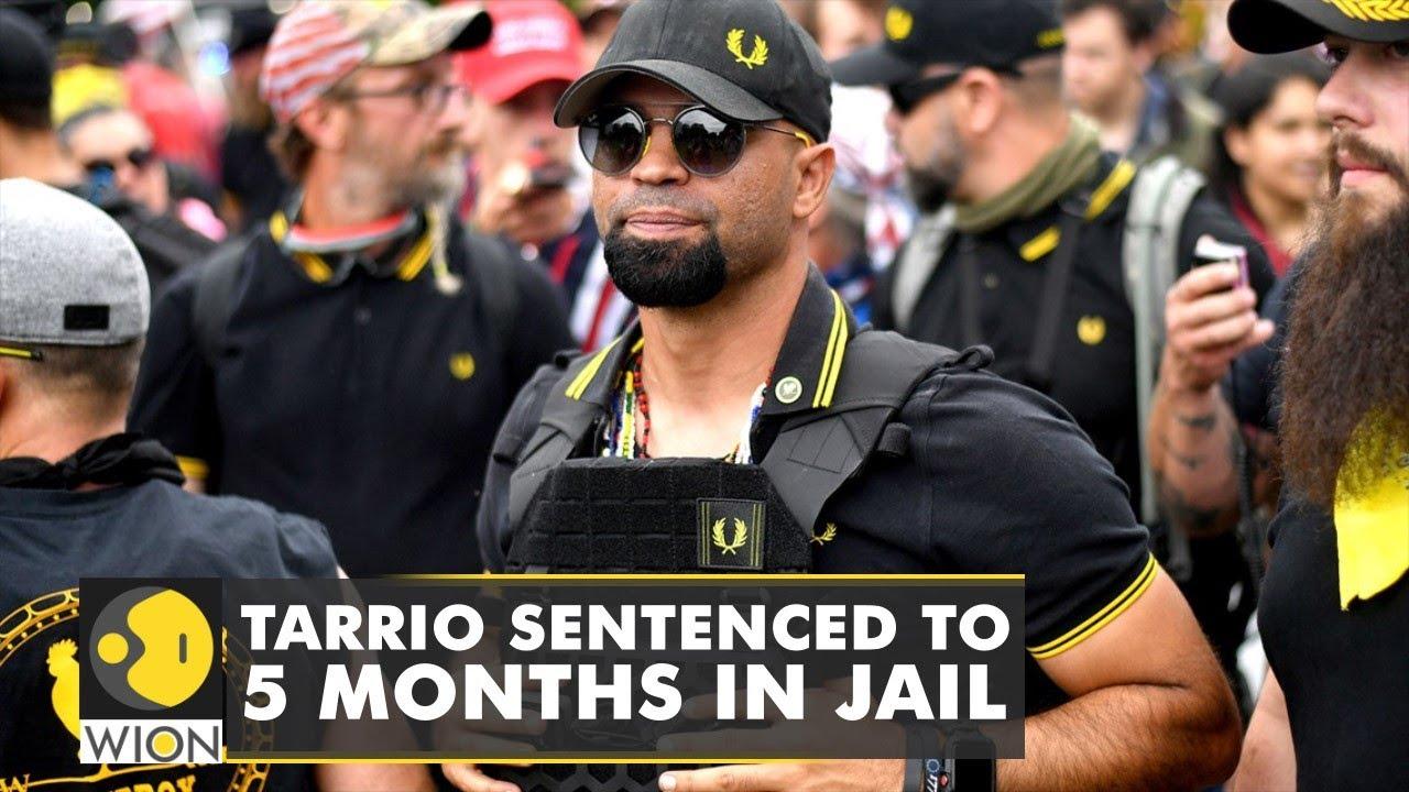 Proud Boys leader Enrique Tarrio sentenced to 5 months in prison ...