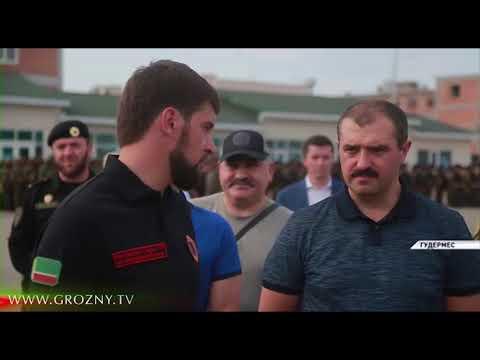 Рамзан Кадыров с Виктором Лукашенко посетили Российский Университет Спецназа