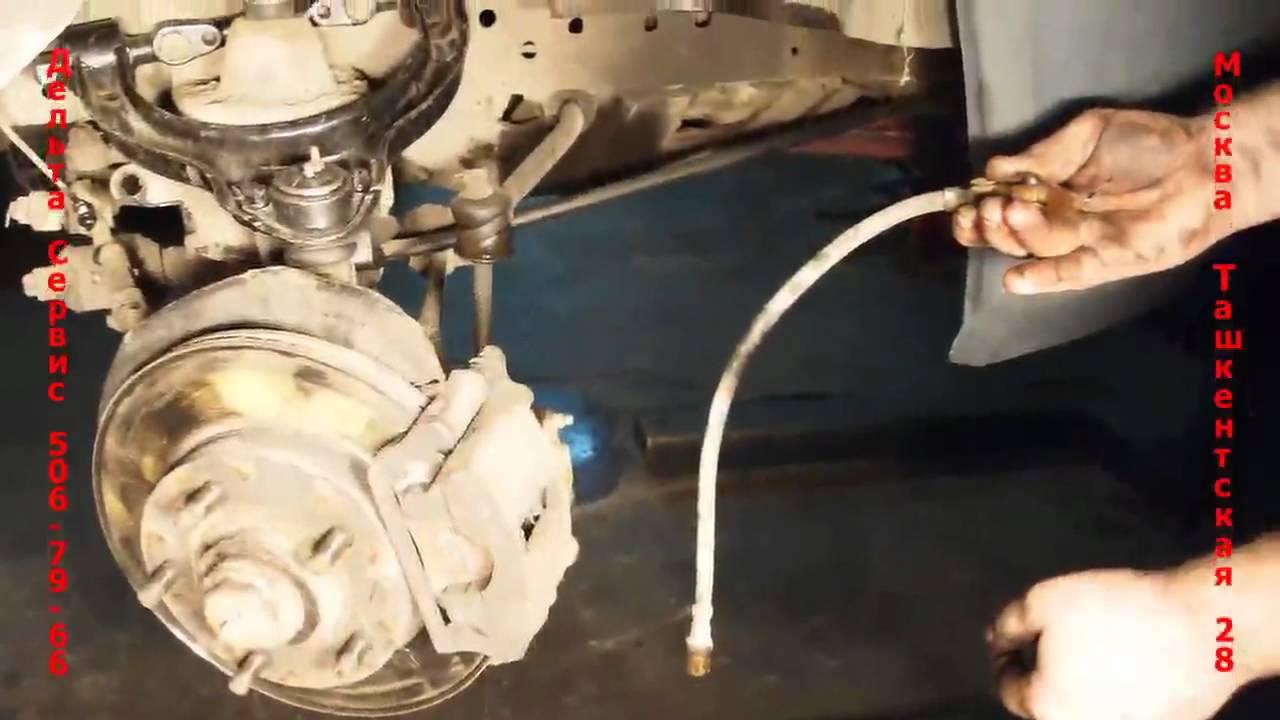 инструкция по замене задних тормозных колодок на фольксваген туа