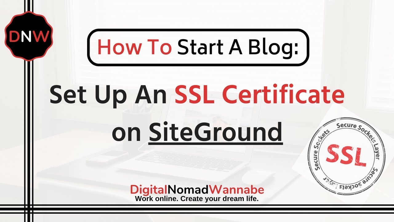 how to set up signed ssl certificate