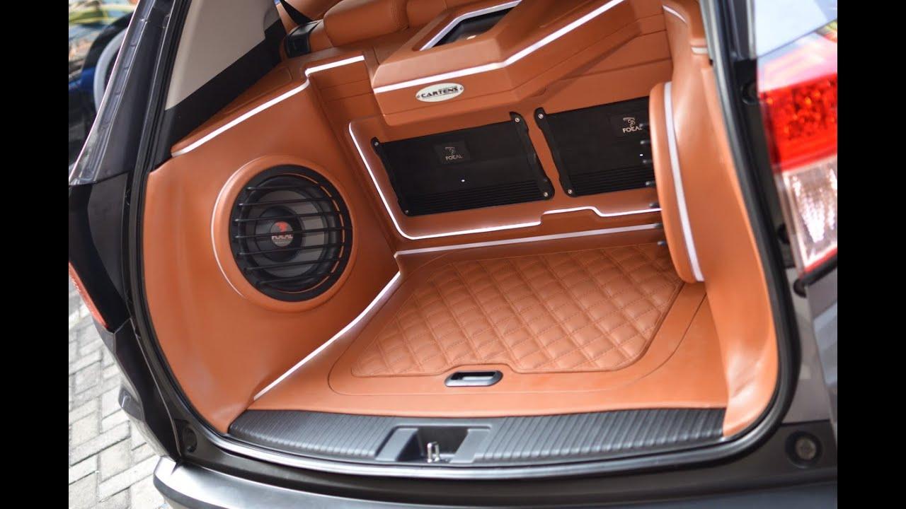 Audio Mobil Heboh Untuk Nonton Honda Hrv Sq And 5 1 Car
