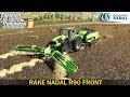 Farming Simulator 19 - RAKE NADAL R90 FRONT Swath with a Working Width of 10.6 Meters